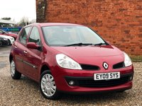 USED 2009 09 RENAULT CLIO 1.1 EXPRESSION 16V 5d 75 BHP