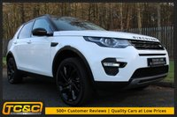 USED 2016 66 LAND ROVER DISCOVERY SPORT 2.0 TD4 HSE BLACK 5d 180 BHP A STUNNING HIGH SPEC CAR WITH DEALER WARRANTY!!!