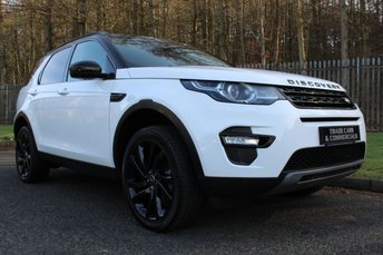 2016 LAND ROVER DISCOVERY SPORT 2.0 TD4 HSE BLACK 5d 180 BHP £26500.00