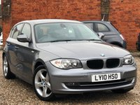 USED 2010 10 BMW 1 SERIES 2.0 116D SPORT 5d 115 BHP
