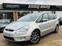 USED 2009 09 FORD S-MAX 1.8 ZETEC TDCI 125bhp 6 speed