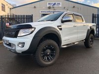 2012 FORD RANGER 2.2 LIMITED 4X4 DCB TDCI 1d 148 BHP, Raptor Styling £14495.00