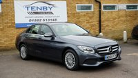 2015 MERCEDES-BENZ C CLASS 2.1 C220 BLUETEC SE EXECUTIVE 4d AUTO 170 BHP £13484.00