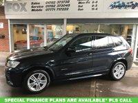 2014 BMW X3 2.0 XDRIVE20D M SPORT 5d AUTO 181 BHP £16475.00