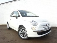 USED 2014 14 FIAT 500 1.2 LOUNGE 3d 69 BHP