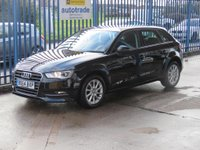 USED 2014 64 AUDI A3 1.6 TDI SE Sportback 5dr Zero Tax & Great Fuel Economy