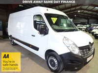 "USED 2016 66 RENAULT MASTER 2.3 LM35 BUSINESS DCI S/R P/V 125 BHP LWB VAN ""YOU'RE IN SAFE HANDS"" - AA DEALER PROMISE"