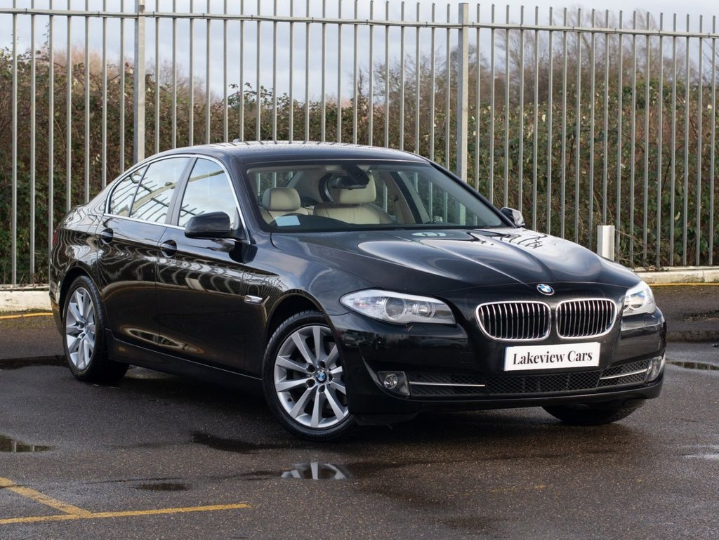 USED 2010 60 BMW 5 SERIES 2.0 520D SE 4d AUTO 181 BHP