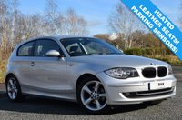 USED 2009 09 BMW 1 SERIES 2.0 116I SPORT 3d 121 BHP 65,000 MILES! HEATED LEATHER INTERIOR! 2 KEYS! AIR CON!