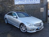 USED 2012 61 MERCEDES-BENZ E CLASS 2.1 E220 CDI BLUEEFFICIENCY SPORT 2d AUTO 170 BHP