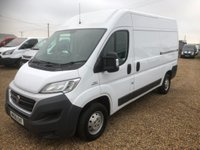 USED 2016 66 FIAT DUCATO 2.3 35 H/R P/V MULTIJET 1d 130 BHP AIR CONDITIONING * CRUISE CONTROL * FULL SERVICE HISTORY *