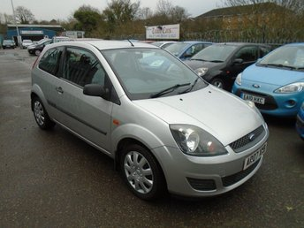 2007 FORD FIESTA 1.25 Style Climate 3dr £1595.00
