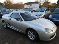USED 2005 54 MG TF 1.6 2dr HARD AND SOFT TOP