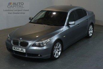 2004 BMW 5 SERIES 3.0 535D SE AUTO 269 BHP AIR CON DIESEL SALOON CAR £3000.00