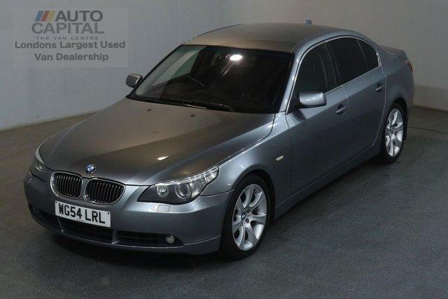 2004 54 BMW 5 SERIES 3.0 535D SE AUTO 269 BHP AIR CON DIESEL SALOON CAR SAT NAV BLUETOOTH AND CRUISE
