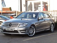 2013 MERCEDES-BENZ C-CLASS 2.1 C220 CDI BLUEEFFICIENCY AMG SPORT PLUS 5d 168 BHP £9495.00