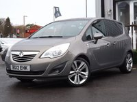 USED 2012 12 VAUXHALL MERIVA 1.4 SE 5d 118 BHP Fully Serviced On Collection