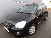 2007 KIA CARENS 2.0 GS 5d 142 BHP 5 SEATS, LOW MILEAGE DRIVES WELL £1495.00