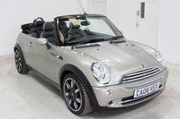 2008 MINI CONVERTIBLE 1.6 COOPER SIDEWALK 2d 114 BHP £4495.00