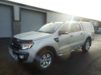 2015 FORD RANGER 3.2 WILDTRAK 4X4 DCB TDCI 1d AUTO 197 BHP LEATHER NO VAT........ £16491.00