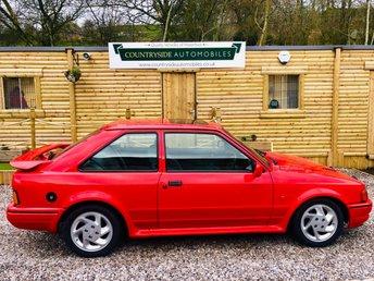 1989 FORD ESCORT 1.6 RS TURBO 3d 132 BHP £14995.00