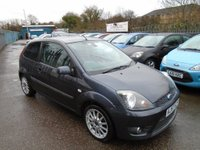 USED 2008 57 FORD FIESTA 1.6 Chequered Flag 3dr FULL SERVICE HISTORY