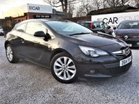 USED 2014 14 VAUXHALL ASTRA 1.4 GTC SRI S/S 3d 138 BHP 1 PREVIOUS OWNER +FULL SERVICE