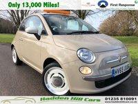 2015 FIAT 500 0.9 TWINAIR VINTAGE 57 3d 85 BHP £6750.00