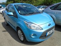 USED 2011 61 FORD KA  1.2 Zetec (s/s) 3dr FULL SERVICE HISTORY