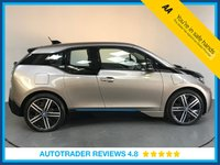 USED 2016 65 BMW I3 0.6 I3 RANGE EXTENDER 5d AUTO 168 BHP SERVICE HISTORY - ONE OWNER - SAT NAV - HALF LEATHER - AIR CON - REAR SENSORS - BLUETOOTH - DAB