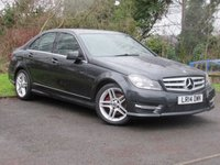 USED 2014 14 MERCEDES-BENZ C-CLASS 2.1 C220 CDI BLUEEFFICIENCY AMG SPORT 4d  **EXECUTIVE SPORTY SALOON**