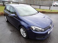 USED 2011 61 VOLKSWAGEN GOLF 2.0 MATCH TDI BLUEMOTION TECHNOLOGY 5d 138 BHP 3 Months National Warranty - Full Service History with Timing Belt Change