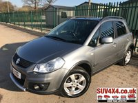 USED 2011 11 SUZUKI SX4 1.6 SZ5 5d 118 BHP AIR CON FSH STUNNING GREY MET WITH BLACK CLOTH TRIM. 16 INCH ALLOYS. COLOUR CODED TRIMS. PRIVACY GLASS. PARROT BLUETOOTH PREP. CLIMATE CONTROL WITH AIR CON. R/CD PLAYER. MFSW. ROOF BARS. 5 SPEED MANUAL. MOT 02/20. ONE PREV OWNER. FULL SERVICE HISTORY. P/X CLEARANCE CENTRE LS23 7FQ TEL 01937 849492 OPTION 4