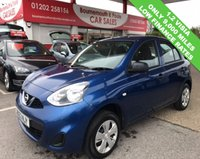 USED 2013 63 NISSAN MICRA 1.2 VISIA 5d 79 BHP *ONLY 9,000 MILES*