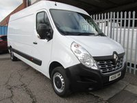 USED 2016 66 RENAULT MASTER LM35 DCi 125 Business LWB Medium roof L3 H2 *SAT NAV* EXCELLENT EXAMPLE WITH HIGH SPECIFICATION