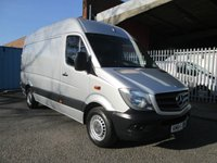 USED 2014 64 MERCEDES-BENZ SPRINTER 313 CDi MWB High roof *BLUETOOTH + CRUISE* FACTORY BLUETOOTH - CRUISE CONTROL
