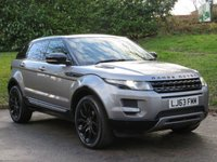 USED 2013 63 LAND ROVER RANGE ROVER EVOQUE 2.2 SD4 PURE TECH 5d 190 BHP SAT NAV, HEATED LEATHER & MORE!