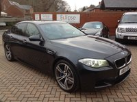 USED 2013 13 BMW M5 4.4 M5 4d AUTO 553 BHP FSH+NAV+HEATED LEATHER+EDC