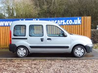 USED 2007 07 RENAULT KANGOO 1.1 AUTHENTIQUE 16V 5d 75 BHP WHEEL CHAIR ADAPTED VEHICLE