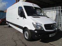 2016 MERCEDES-BENZ SPRINTER 313 CDi LWB High roof 4 metre load length *ONLY 62000 MILES* £13495.00