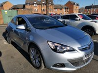 USED 2015 65 VAUXHALL ASTRA 2.0 GTC SRI CDTI 3d AUTO 162 BHP ALLOY WHEELS, HALF LEATHER TRIM, AIR CON, PARKING SENSORS, MEDIA INPUT, VERY ECONOMICAL, SERVICE HISTORY