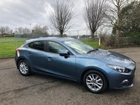 USED 2014 14 MAZDA 3 1.5 SE 5d 99 BHP £30 Road Tax