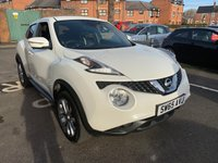 USED 2015 65 NISSAN JUKE 1.5 TEKNA DCI 5d 110 BHP £20 A YEAR ROAD TAX!! TOP OF THE RANGE TEKNA MODEL WITH - SAT NAV, 360 CAMERAS, PRIVACY GLASS, AIR CON, BLUETOOTH, LEATHER TRIM, ALLOY WHEELS