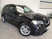 USED 2013 62 BMW X3 2.0 XDRIVE20D M SPORT 5d AUTO 181 BHP