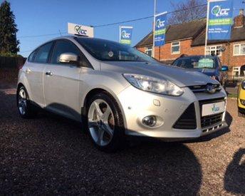 2012 FORD FOCUS 1.6 TITANIUM X 5d 148 BHP £9395.00