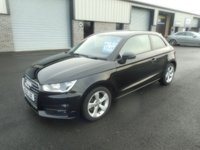 2015 AUDI A1 1.6 TDI SPORT 3d 114 BHP CHEAP TAX 80 MPG SAT NAV £8491.00