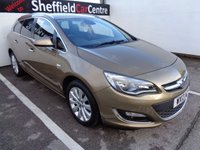 USED 2013 13 VAUXHALL ASTRA 1.6 SE 5d AUTO 115 BHP £156 A MONTH CRUISE CONTROL AUTOMATIC FULL SERVICE HISTORY PARKING SENSORS ALLOY WHEELS AIR CON SUPPLIED WITH FULL MOT