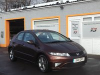 "USED 2011 11 HONDA CIVIC 1.3 I-VTEC SI 5d 98 BHP 1/2 Leather, MP3 CD player, 16"" Alloys"