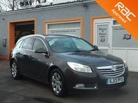 USED 2013 13 VAUXHALL INSIGNIA 2.0 SRI CDTI 5d 157 BHP 17 Inch Alloys, Cruise Control, Bluetooth, Air Con, 5 Service Stamps