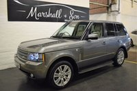 USED 2010 10 LAND ROVER RANGE ROVER 3.6 TDV8 VOGUE SE 5d AUTO 271 BHP STUNNING CONDITION THROUGHOUT - VOGUE SE - NVA - TV - DUAL VIEW - PRIVACY - 20 INCH ALLOYS - SIDE STEPS